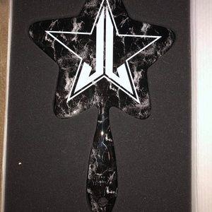 Jeffree Star Hand Mirror Black Marble